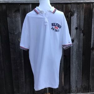 Tommy Hilfiger Men's White Polo Shirt